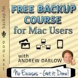 Free Backup Course for Mac Users Podcast