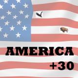 America + 30