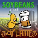 Soybeans meet Soy Lattes