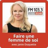 France Gauthier et Marcia Pilote
